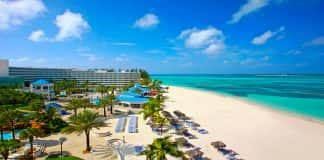 Melia Cable Beach in the Bahamas.