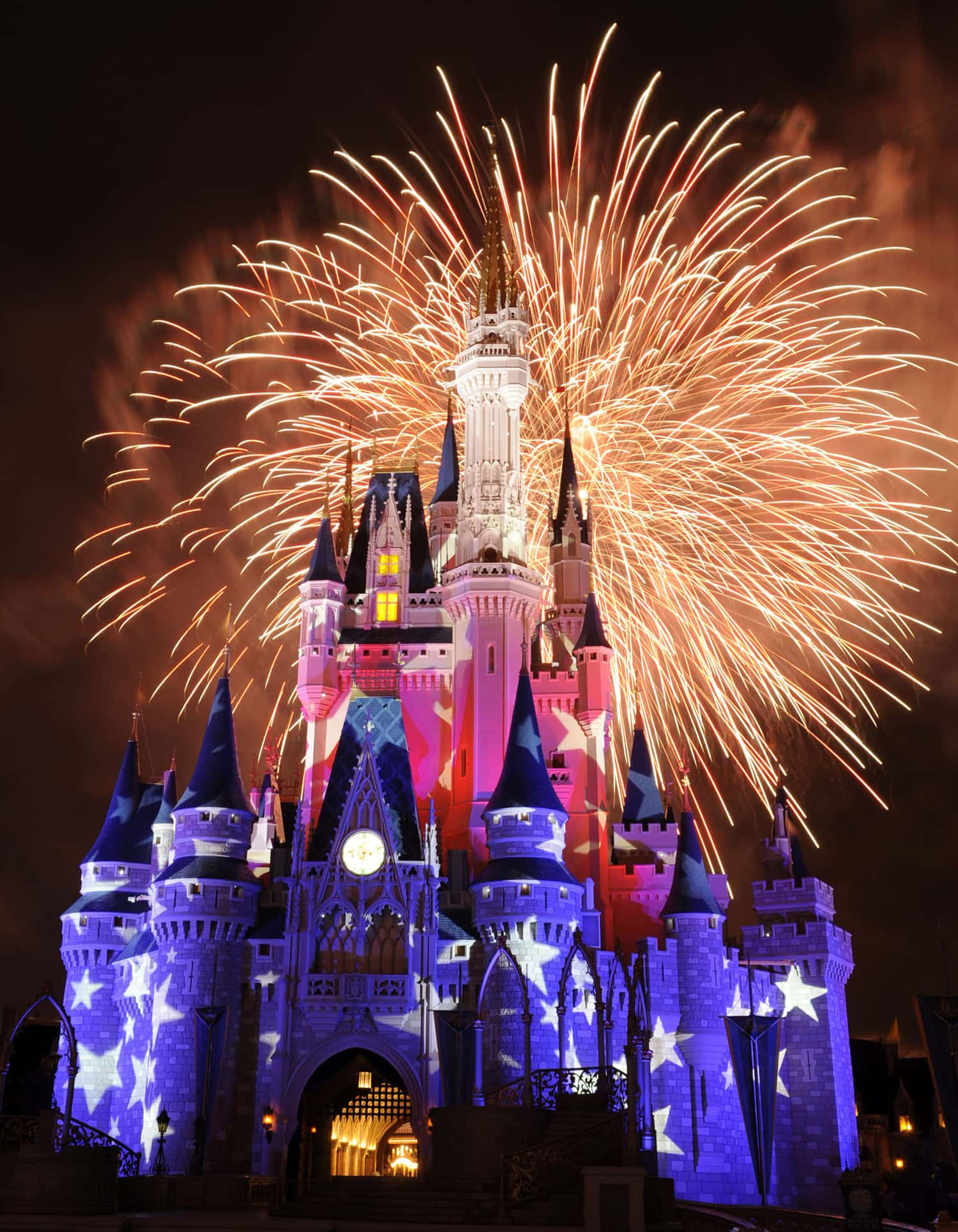where to watch fourth of july fireworks display at walt disney world