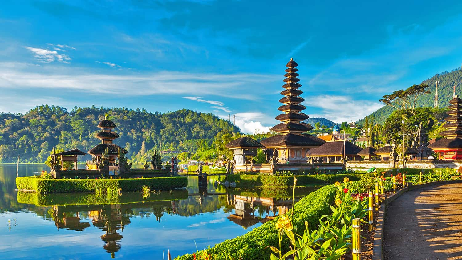 International Culinary Tours takes guests to Bali for a getaway that combines yoga with cuisine.
