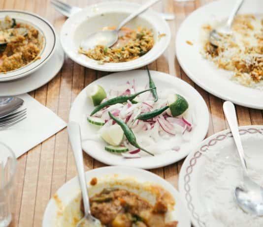 "Eating London'sBrick Lane – Flavors of India & Beyondtour features nine tastings""Banglatown."""