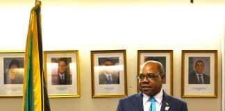 Edmund Bartlett, Jamaica's Minister of Tourism (Photo credit: Barney A Bishop.)