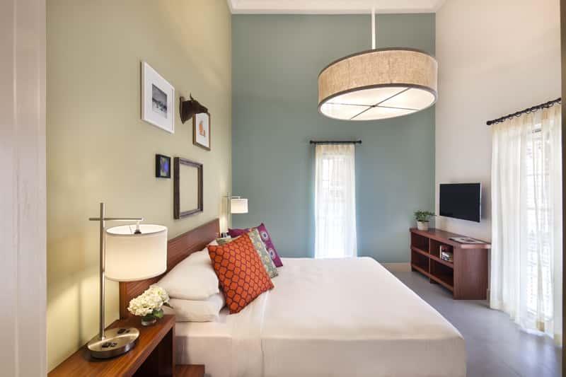 El Paseo Hotel's Royal Suite.