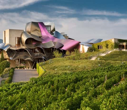 The Hotel Marques de Riscal in Elciego, Spain is part of Marriott International's  Luxury Collection.