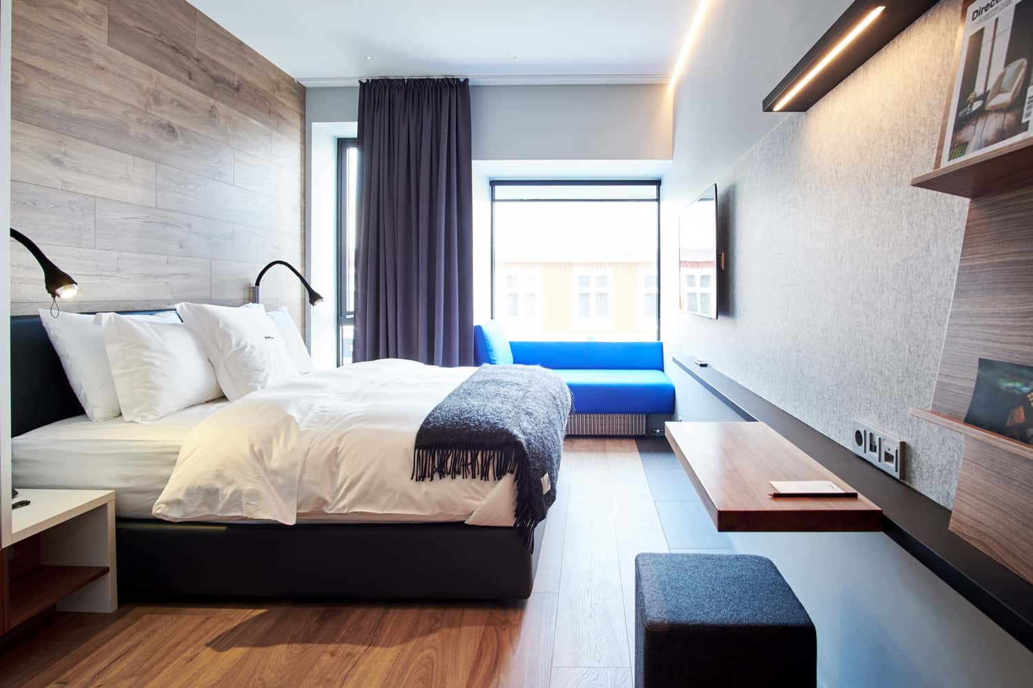 Design centric ion city hotel debuts in reykjavik recommend for City hotel design