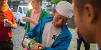 Oku Japan's Japan's Culinary Heritage itinerary includes people-to-people experiences such as a community-hosted meal with a sake brewer.