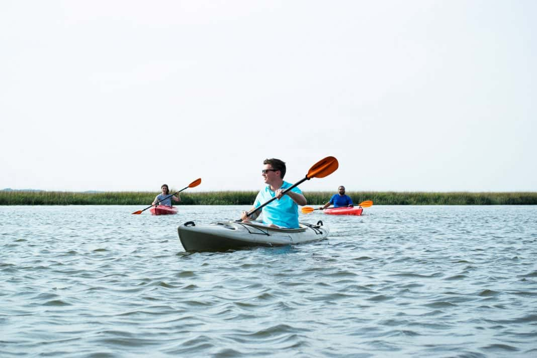 Kayaking at Omni Amelia Island Plantation Resort in North Florida.