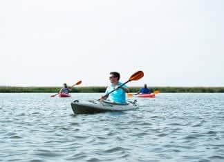 Kayaking atOmni Amelia Island Plantation Resortin North Florida.