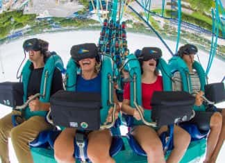 SeaWorld Orlando's newvirtual reality roller coaster,Kraken Unleashed, is now open.