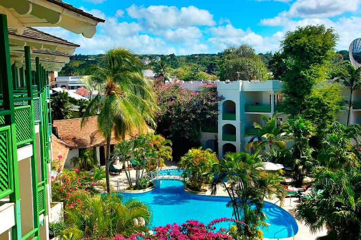 The all-inclusive Mango Bay Hotel is situated on the famed Gold Coast of Barbados.
