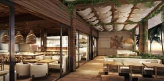 Alohilani Resort Waikiki Beach features two Asian restaurants and a tropical beer garden from celebrity chef Masaharu Morimoto