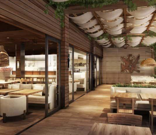 Alohilani Resort Waikiki Beach featurestwo Asian restaurants and a tropical beer garden from celebrity chef Masaharu Morimoto