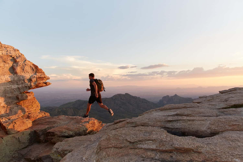 Hiking near Canyon Ranch Tucson.