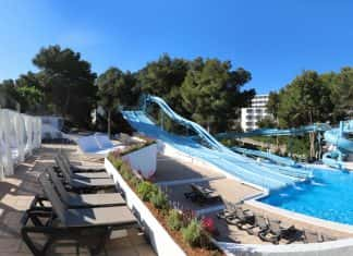 The waterpark at Sandos El Greco. (Photo courtesy of Sandos El Greco.)