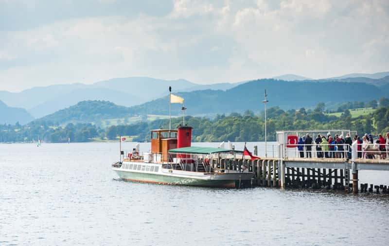 Collette's Exploring Britain & Ireland visits the English Lake District. (Photo credit: VisitEngland/Richard J Jones)