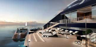 The Ritz Carlton Yacht Collection aft marina.