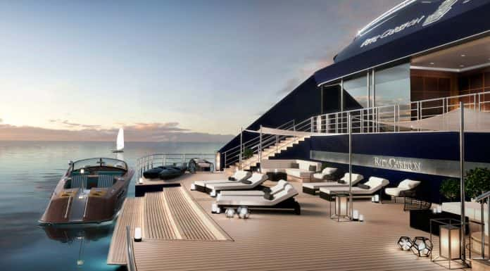 The Ritz Carlton Yacht Collection aft marina.