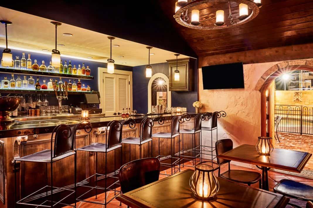 Thewell bar atThe Collector Luxury Inn & Gardens.