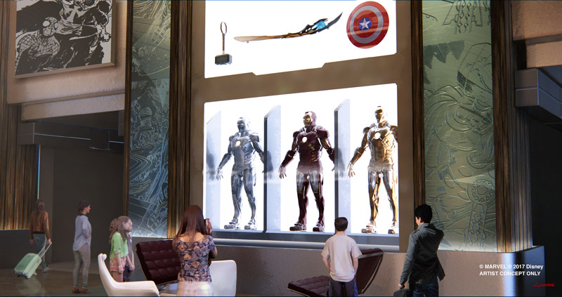Guests will be able to explore the Marvel Universe atDisneyland Paris.