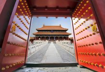 FAMTrips.travel all-inclusive China FAM visits the Forbidden City in Beijing.