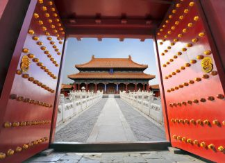 FAMTrips.travel all-inclusive China FAM visits theForbidden City in Beijing.