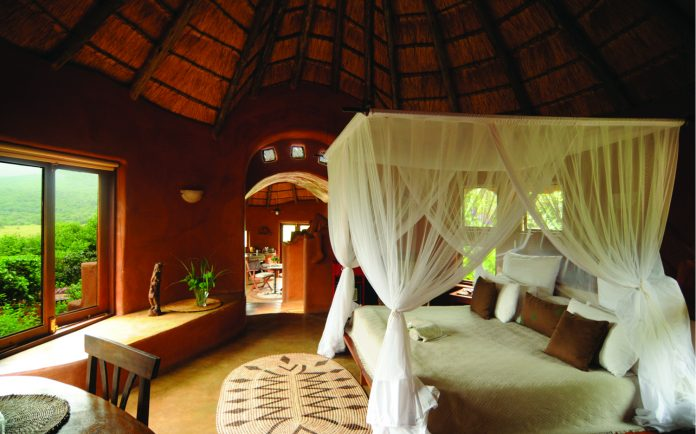 Accommodations at Leshiba Wilderness.