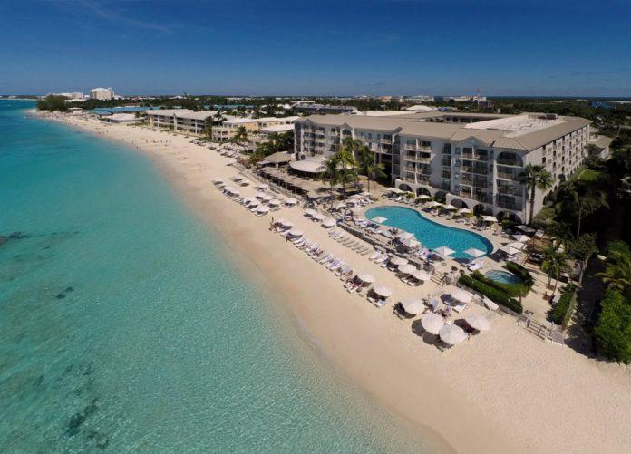 The Grand Cayman Marriott Beach Resort.