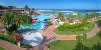 Holiday Inn Resort Montego Bay in Jamaica.