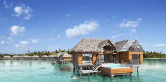 InterContinental Bora Bora Resort & Thalasso Spa unveils overwater villas. (Photo courtesy of InterContinental Bora Bora Resort & Thalasso Spa.)