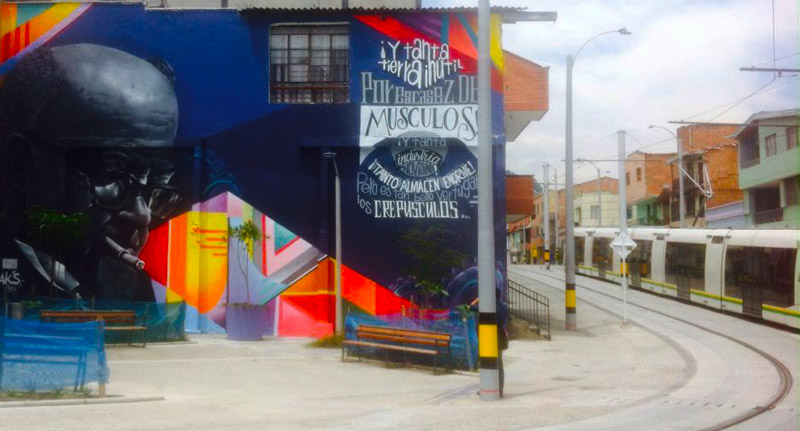 Medellin City Tours offers a 3-hour Street Art Tour in Medellin's vibrant barrios. (photo credit: Medellin City Tours)