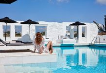 Mr. and Mrs. White New Style Hotel in Paros, Greece