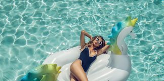Guests who book W Hotels' Heat Wave package receive this playful, limited edition pool float.