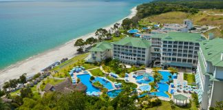 Sheraton Bijao Beach Resort in Santa Clara, Panama.