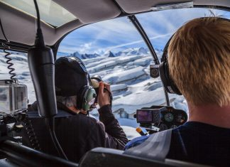 Beginning next March, skiers and snowboarders will find the best of Tordrillo Mountain Lodge's legendary heli-ski adventures at Winterlake Lodge. (Photo credit: Within the Wild Adventure Co/Tyrone Potgieter)