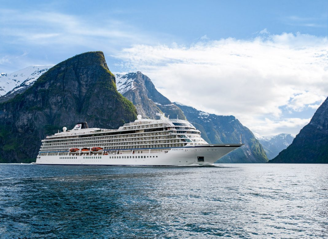 Viking Cruises'In Search of the Northern Lights will sail between London and Bergen starting in January 2019 on the Viking Sky.
