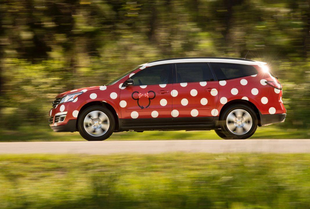 Among the new experiences at Walt Disney World Resort is aMinnie Van transportation service.