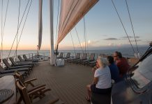 International Expeditions' Cuba Voyage cruises along western Cuba to Havana aboard the 46-passenger Panorama yacht.