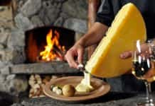 On Alpenwild's Cheese, Chocolate, and Wine in the Scenic Alps tour, guests have the option to make artisan alpine cheese.