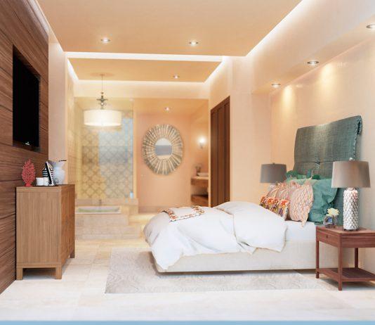Grand Solmar at Rancho San Lucas Resort Master Suite bedroom.