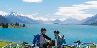 Around the Mountains Cycle Trail, Southland, New Zealand. (Photo credit:Tourism New Zealand)