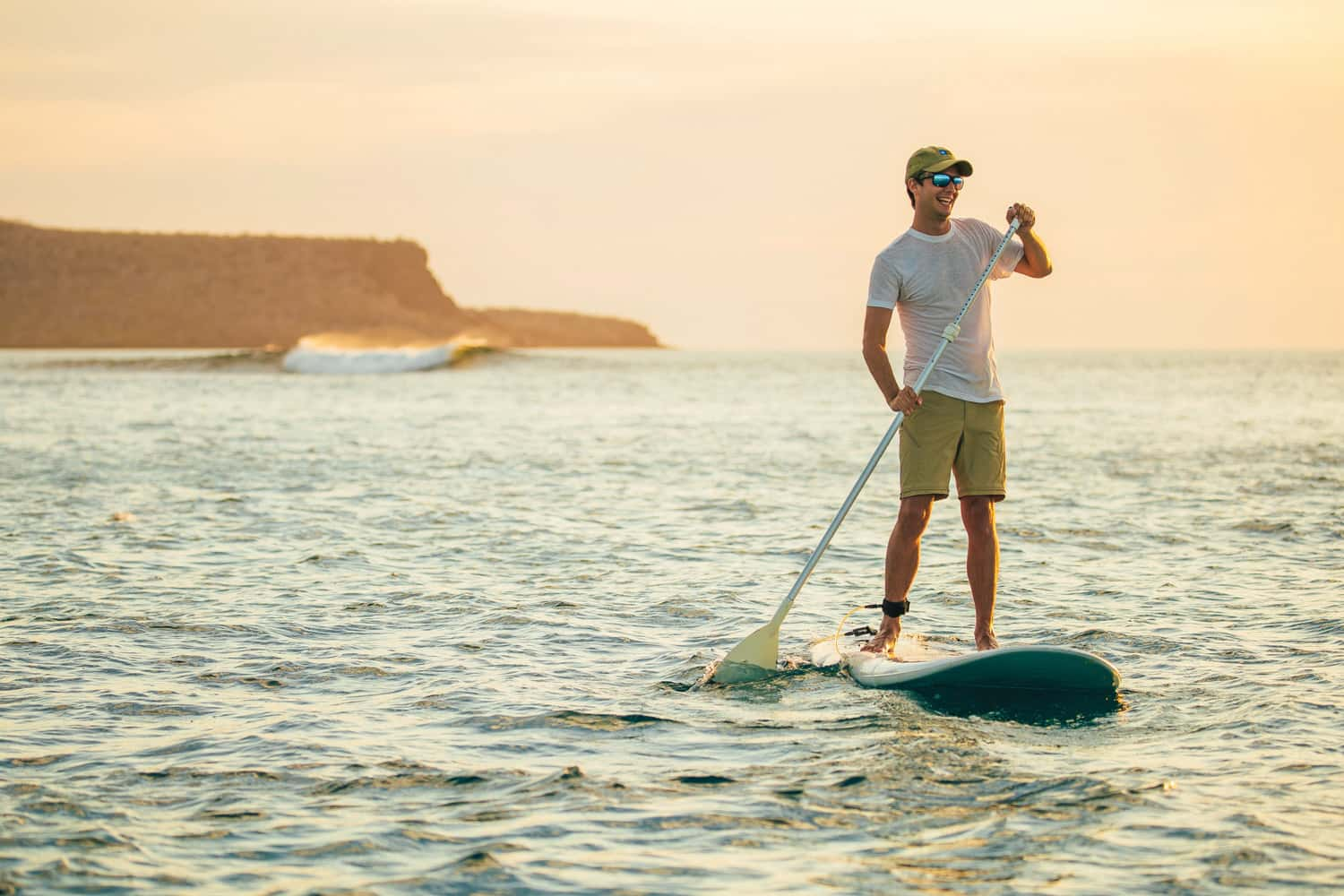 Guests can try SUP (Stand Up Paddleboard) on Lindblad Expeditions-National Geographic's 3- and 4-day sailings in the Sea of Cortez.