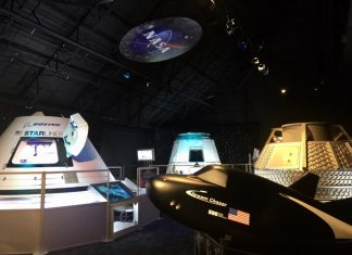 Kennedy Space Center's NASA Now attraction. (Photo courtesy of Kennedy Space Center.)