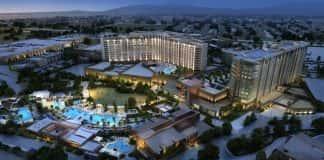 Exterior rendering of thePechanga Resort & Casino in Temecula, California.