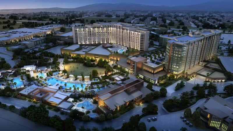 Spa Resort Casino Construction