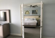 The 1-bedroom suite at The Ritz-Carlton Key Biscayne.