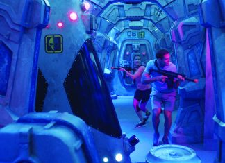When Norwegian Bliss debuts next year it will feature a laser tag course themed around an abandoned space station.