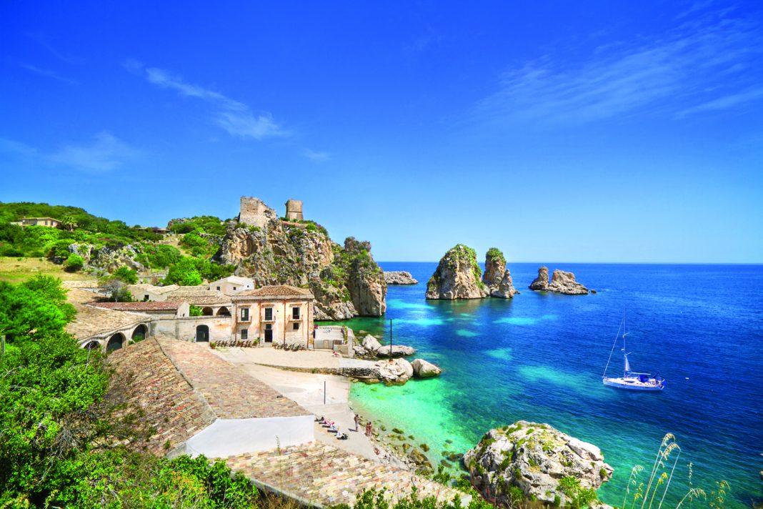 Tonnara di Scopello in Sicily.