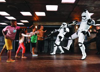 Enhancements to the Disney Fantasy included a Star Wars: Command Post area.