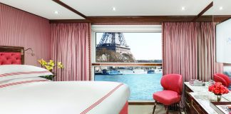 Accommodations with a view on board the Joie de Vivre.
