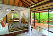 Nayara Hotel & Gardens, located in Costa Rica's Arenal Volcano National Park.