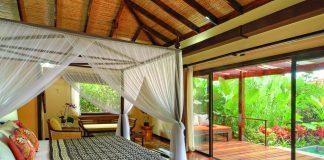 Nayara Hotel & Gardens, located in Costa Rica's Arenal Volcano National Park.
